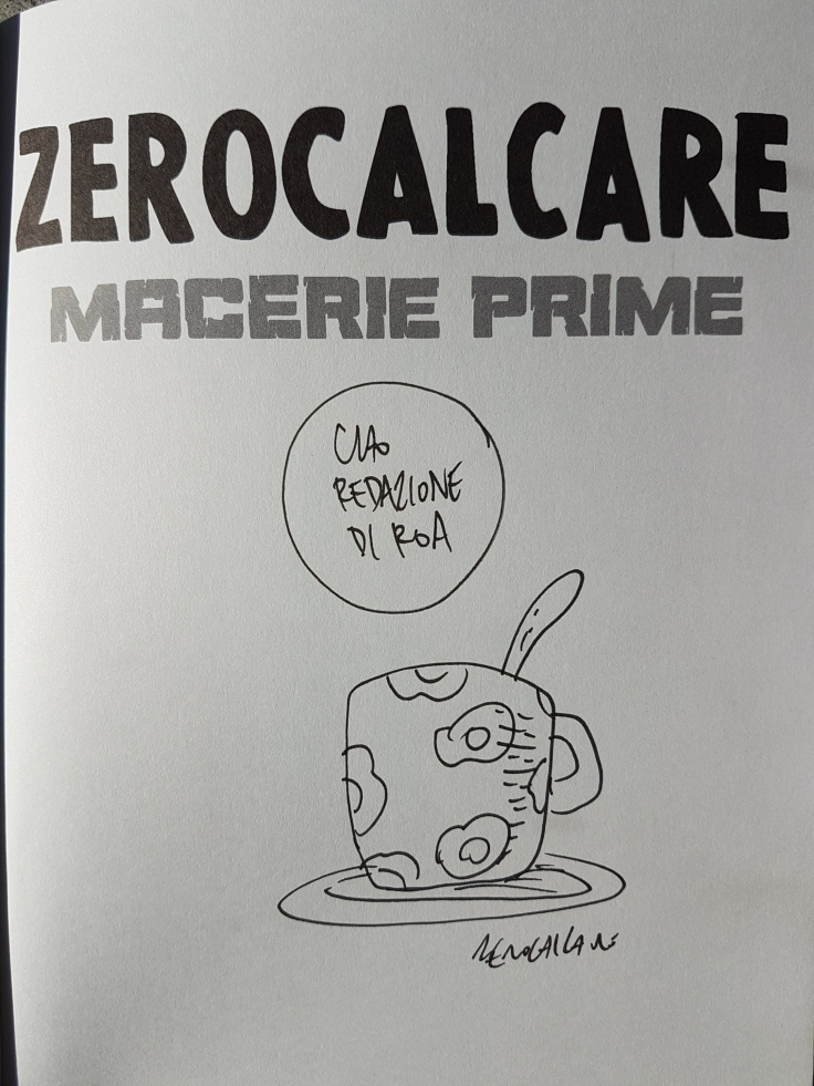 Roa Rivista Online d'Avanguardia Zerocalcare Macerie Prime
