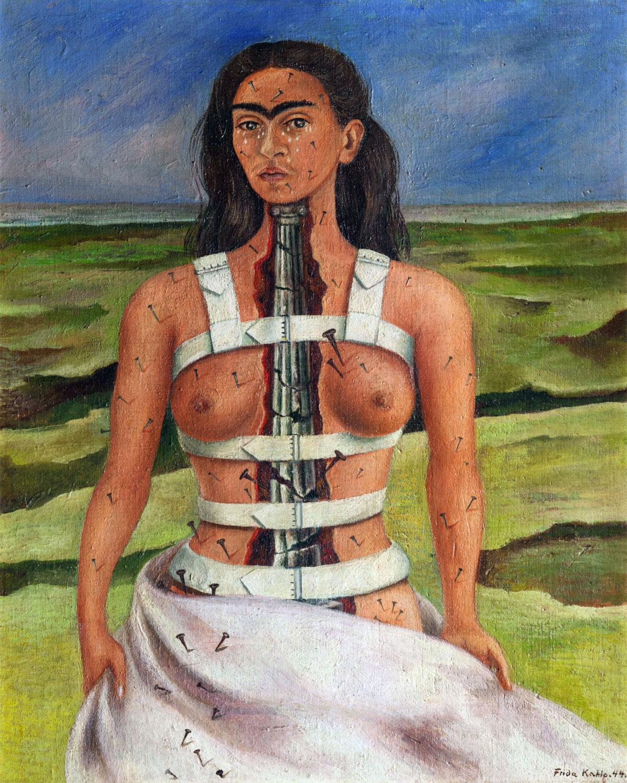 ROA rivista online avanguardia raccontare racconto racconti arte frida kahlo mudec milano 2018 la colonna rotta